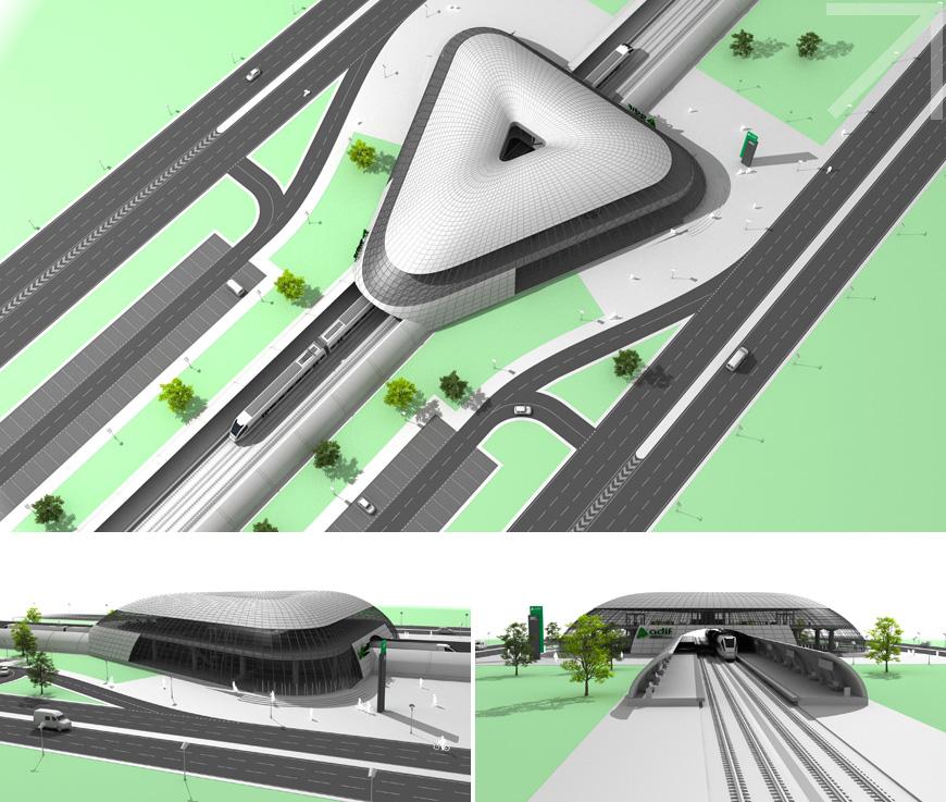 Adif. Estación Sostenible 360 grados